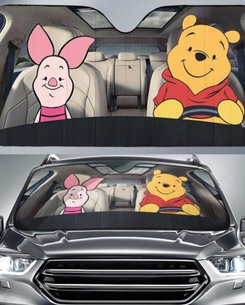 Pooh and Piglet Friends Auto Sun Shade Car Sun Shade