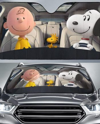 Snoopy SNP Dog CB WS Auto Sun Shade Car Sun Shade