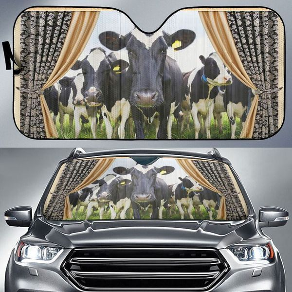 Cow Auto Car Sunshade 13VT KWP411