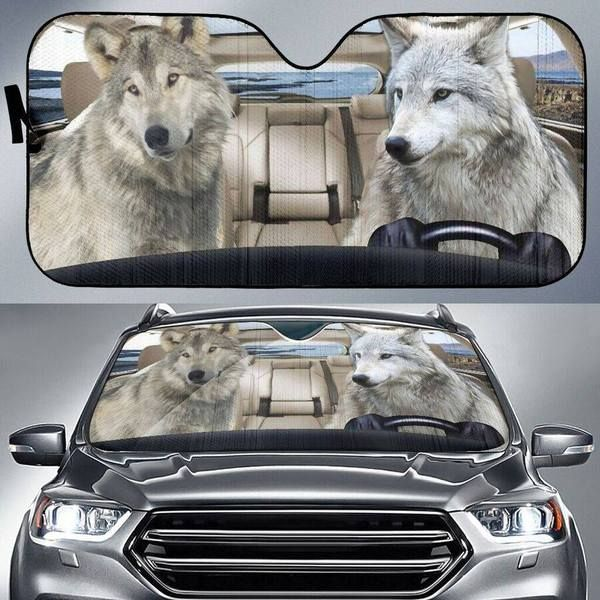 Wolf Auto Car Sunshade 01VT KWP397