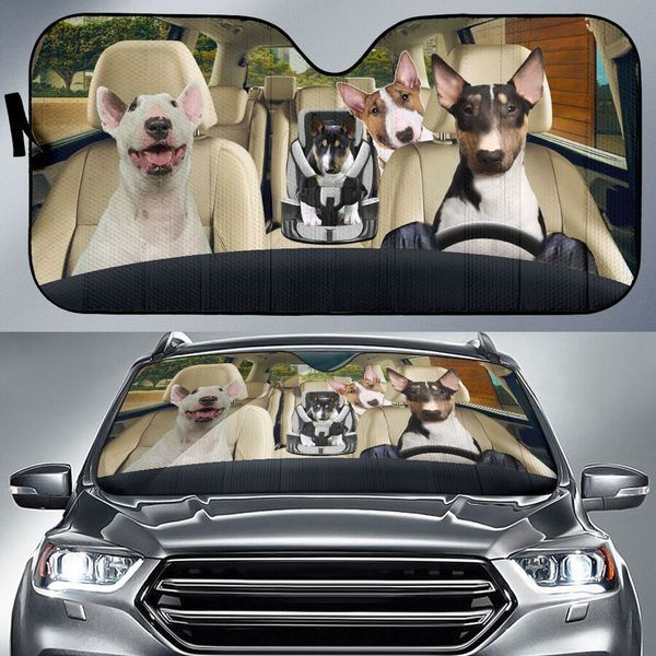 Bull Terrier Auto Car Sunshade 22VT KWP373