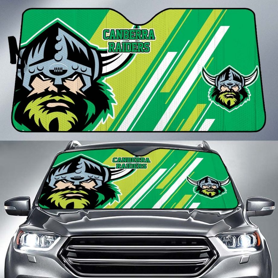 Canberra Raiders Car Sun Shade KWP317