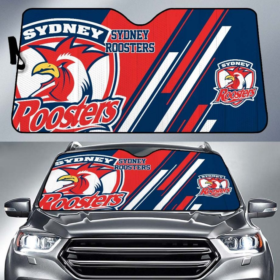 Sydney Roosters Car Sun Shade KWP315