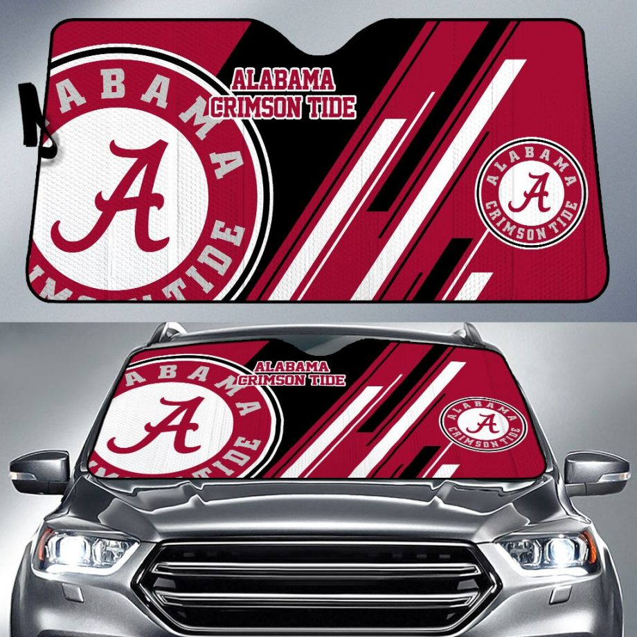 Alabama Crimson Tide Car Sun Shade KWP307