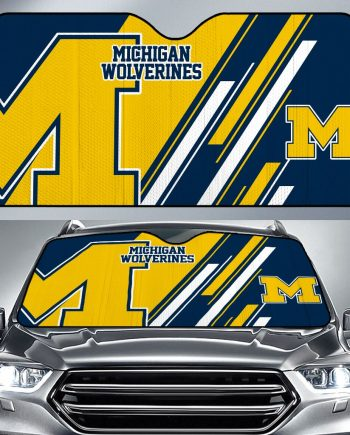 Michigan Wolverines Car Sun Shade KWP304
