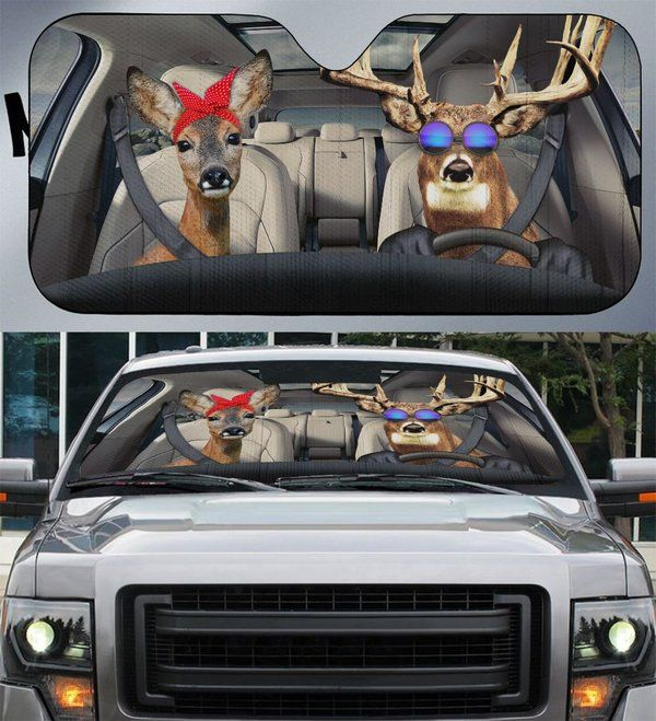 Deer Cool Auto Car Sunshade 08VT KWP341
