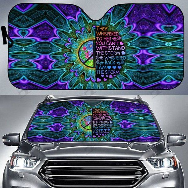 Hippie Auto Car Sunshade 01VT KWP313