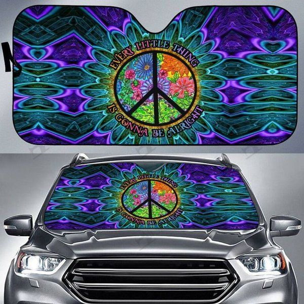 Hippie Auto Car Sunshade 01HP KWP312