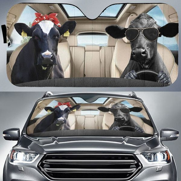 Funny Cow Auto Car Sunshade 10VT KWP303